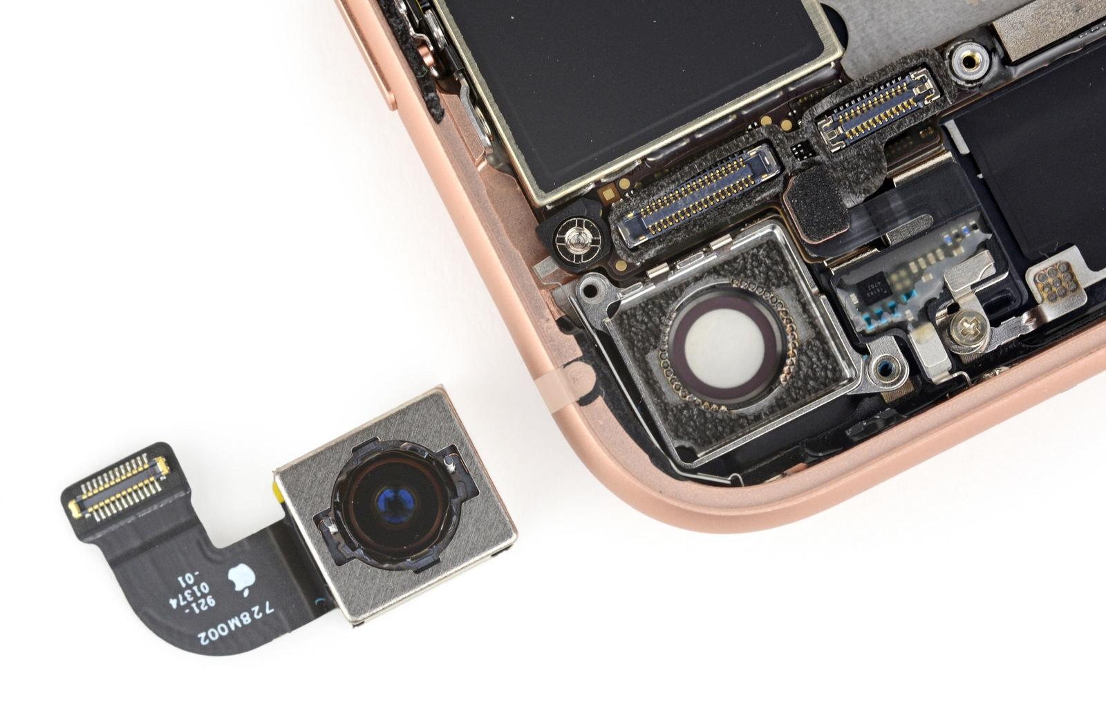 как поменять фотоаппарат в айфоне посадка