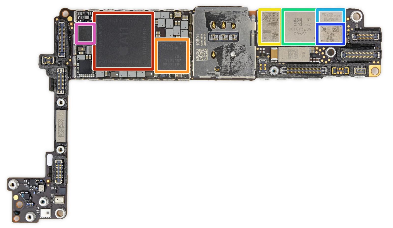 IFixit разобрали iPhone 8