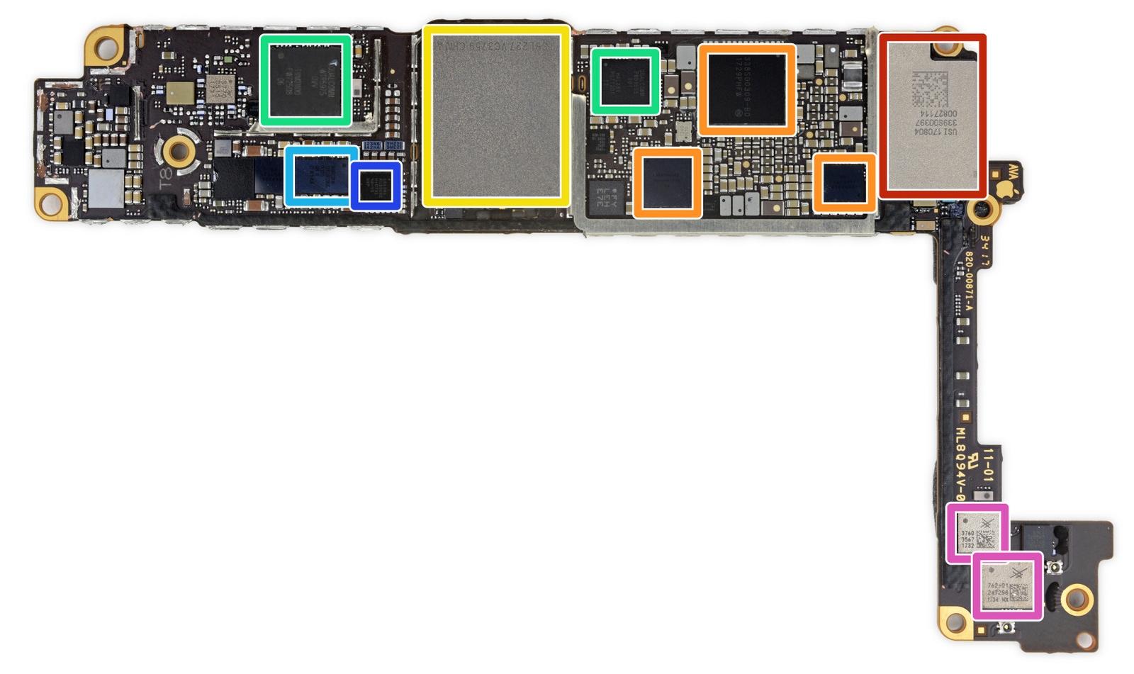 Ремонтопригодность iPhone 8 оценена в6 из10 баллов