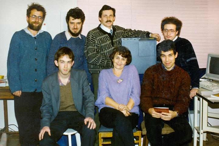 Команда «Яндекса» в первые годы своего существования (источник фото: «Яндекс»)