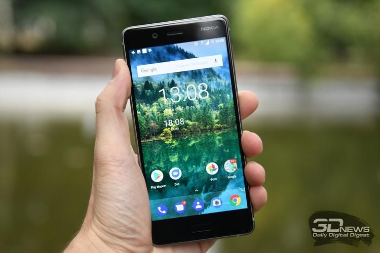 Смартфон Nokia 8 с увеличенным объёмом памяти выйдет в октябре
