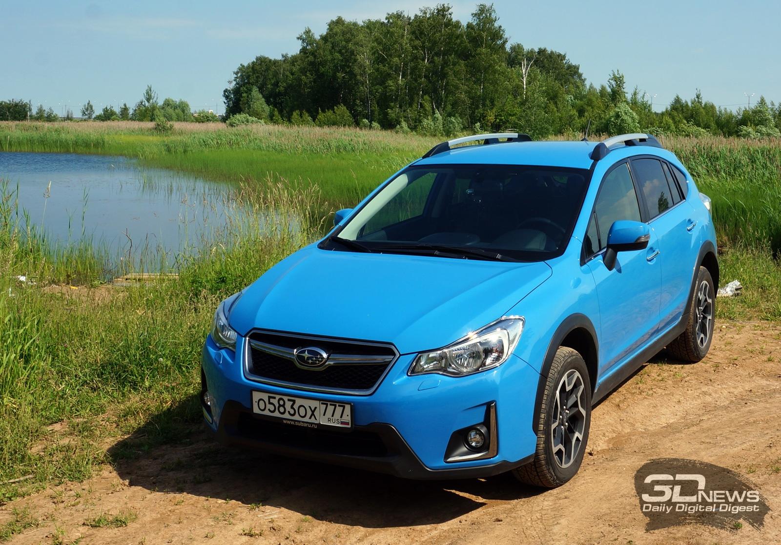 Обзор Subaru XV: для ценителей драйва