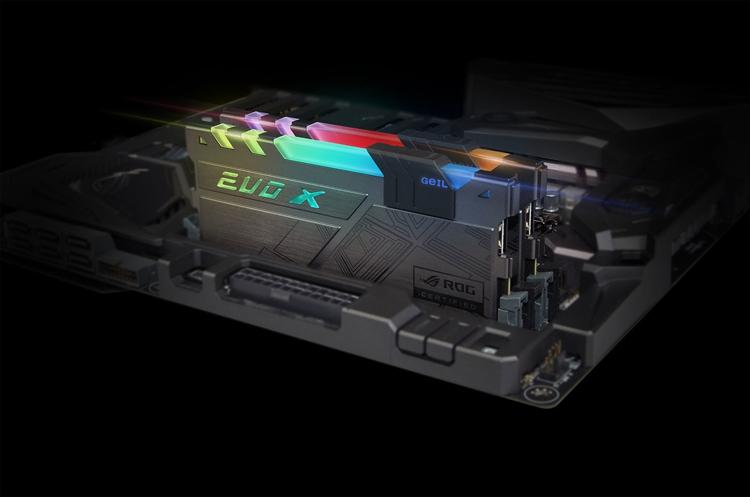 geil4 - GeIL представила память EVO-X RGB DDR4 с сертификацией ASUS ROG