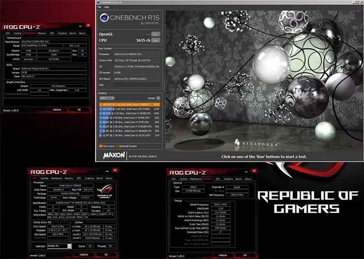"""Core i9-7980XE: релиз и экстремальный разгон старшего процессора Intel"""""""