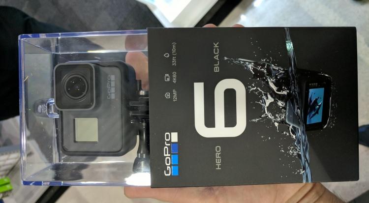 "GoPro представит экшен-камеры Hero6 и Hero6 Black 28 сентября"""