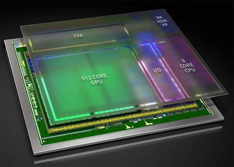 nv0 - Платформа NVIDIA Xavier для робомобилей станет доступна в 2018 году