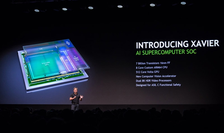 nv1 - Платформа NVIDIA Xavier для робомобилей станет доступна в 2018 году