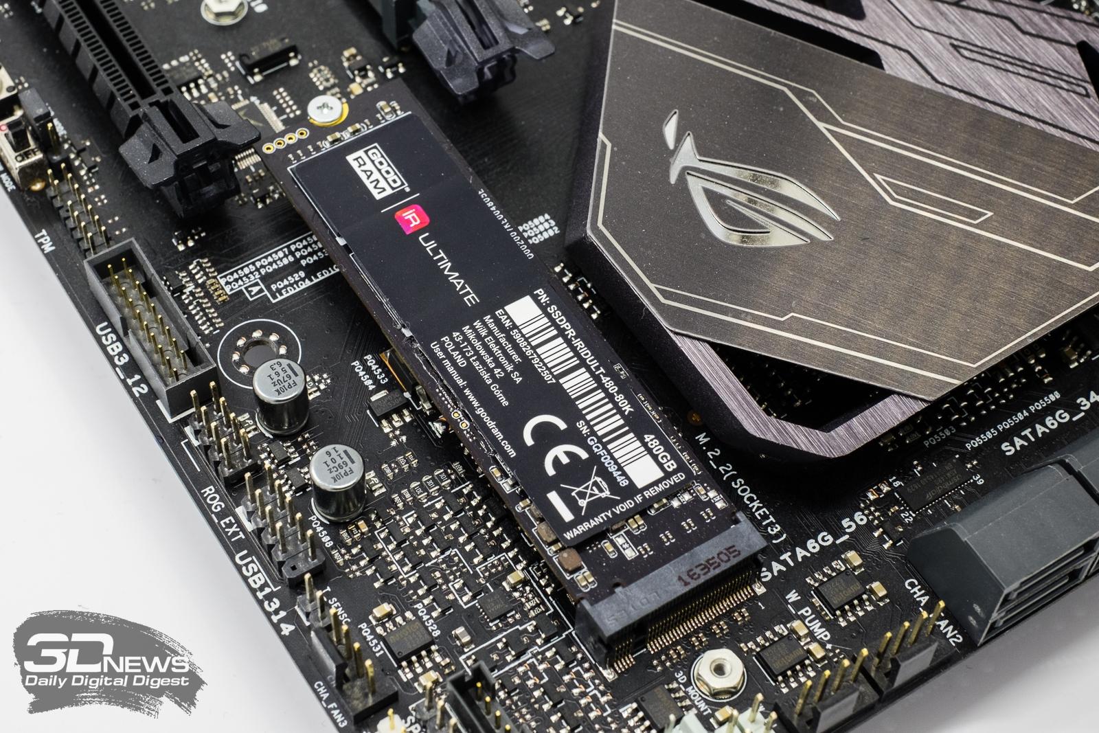 Новая статья: Обзор твердотельного накопителя IRDM Ultimate: первый NVMe SSD GOODRAM