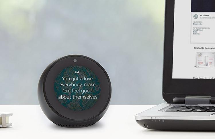 """Amazon Echo Spot: смарт-будильник с голосовым ассистентом Alexa"""""""