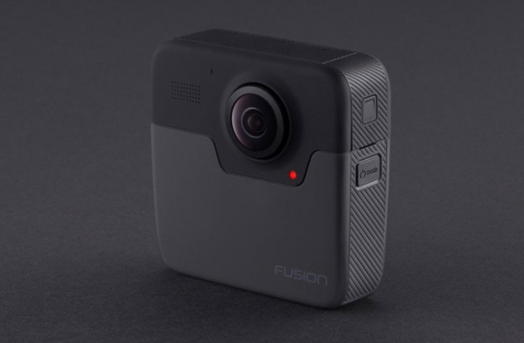 "Анонсирована VR-камера GoPro Fusion с разрешением 5,2K и углом обзора 360°"""