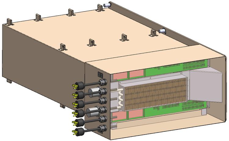 Системы охлаждения и электропитания Spaceborne