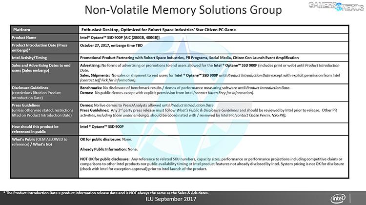 Intel продолжает продвигать SSD Optane в массы
