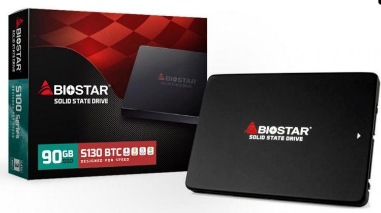bio1 - SSD-накопитель Biostar S130-90 рассчитан на системы для майнинга