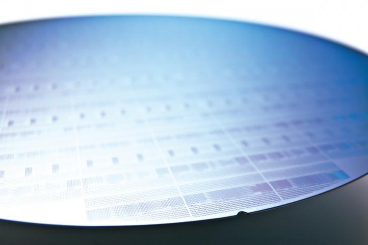 Кремниевая пластина (Фото ASML)