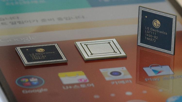 lg1 - LG выпустит новые процессоры для мобильных устройств