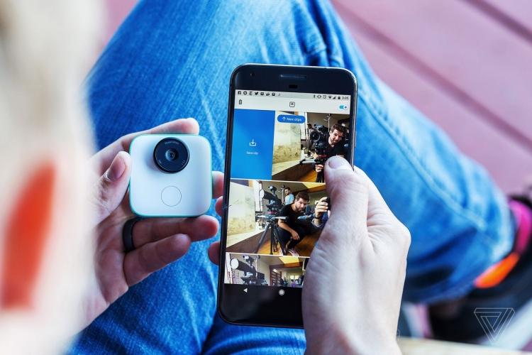 """Google Clips — компактная 12-Мп камера, которая фотографирует сама"""""""