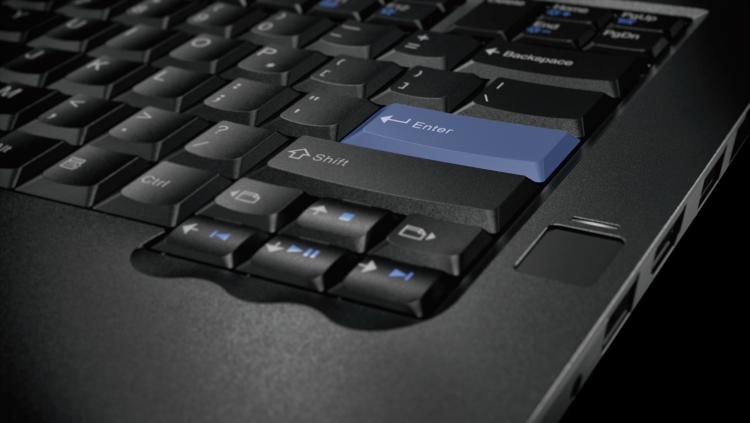 Клавиша Enter в цвете IBM-ретро