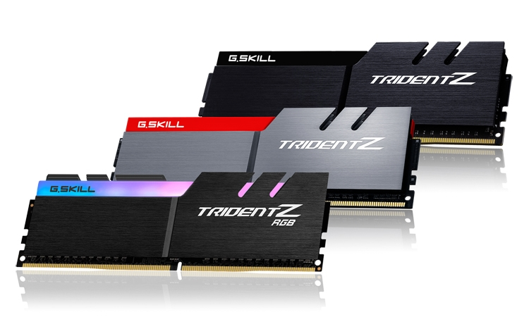 gs1 - G.SKILL раскрыла характеристики памяти DDR4 для платформы Intel Coffee Lake