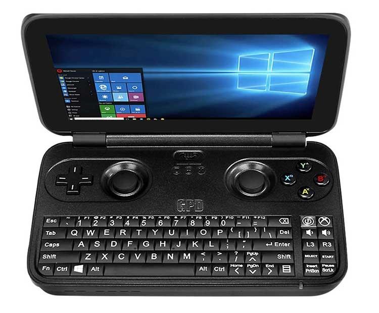 NEW GPD WIN Aluminium Shell Version 5 5 inch X7 Z8750 Tablet Handheld Game Console Windows - Gearbest предлагает осенние скидки