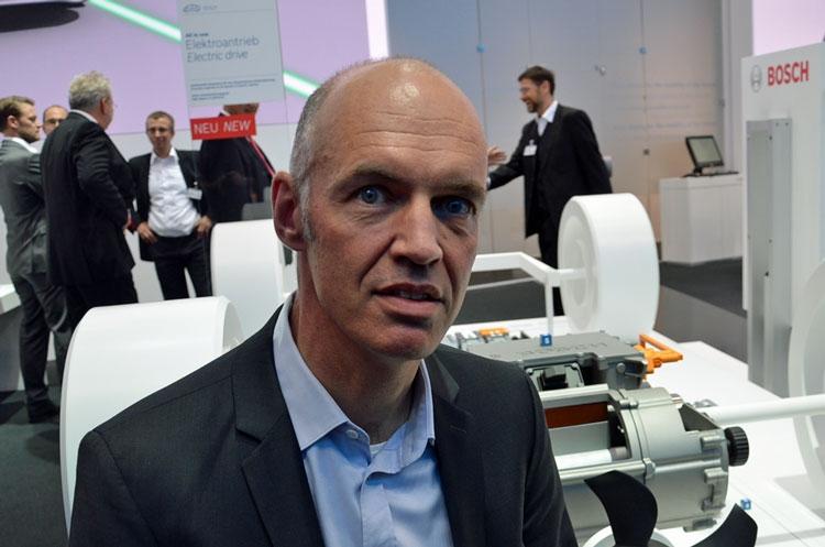 Исполнительный представитель Bosch Матиас Пиллин (Mathias Pillin)