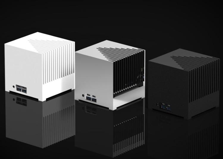ku2 - Kubb Passive Edition: бесшумный мини-компьютер с процессором Intel Kaby Lake