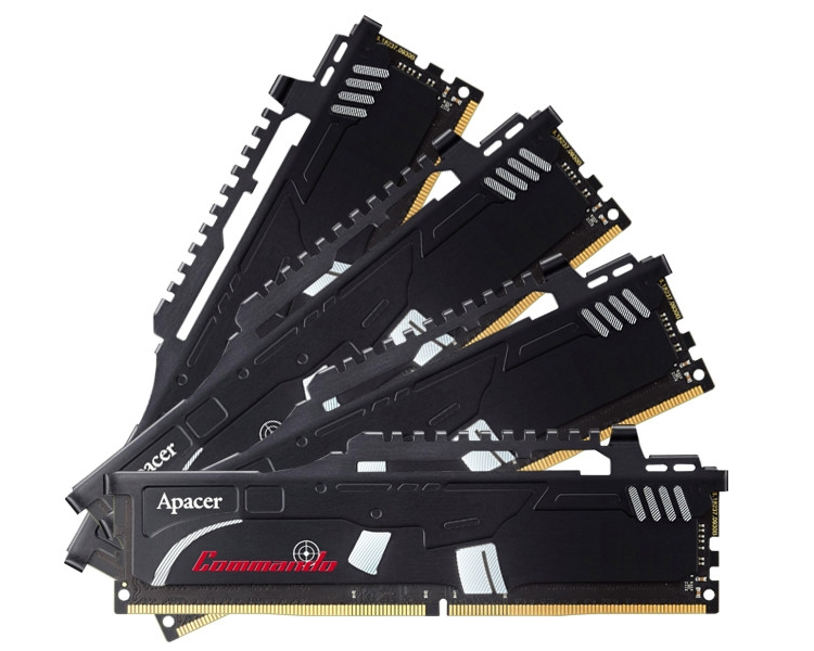 ap2 - Частота памяти Apacer Commando DDR4 достигает 3466 МГц