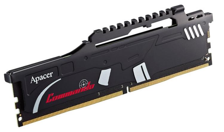 ap3 - Частота памяти Apacer Commando DDR4 достигает 3466 МГц