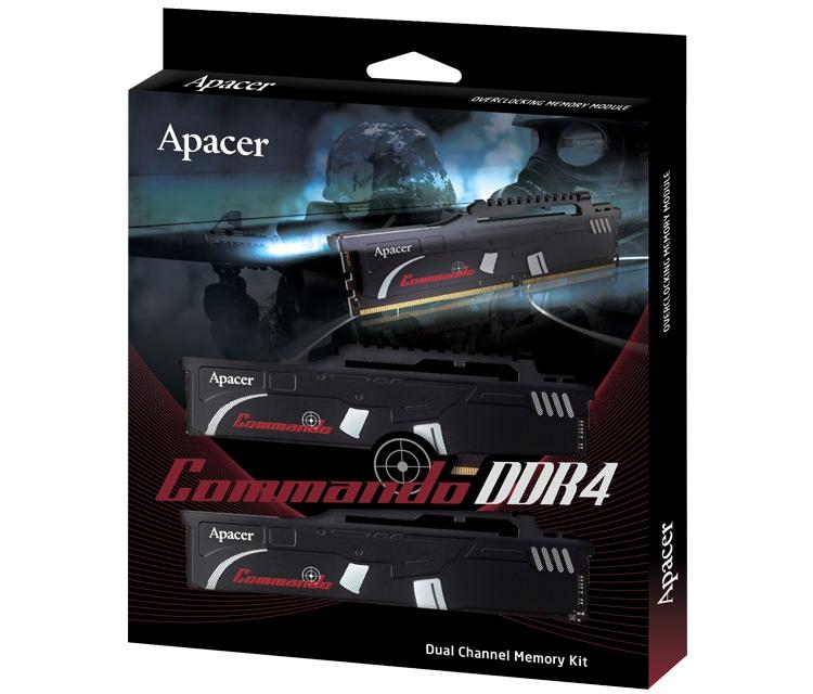 ap4 - Частота памяти Apacer Commando DDR4 достигает 3466 МГц