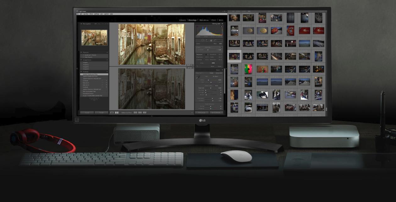 Монитор для работы с фотографиями, видео и графикой