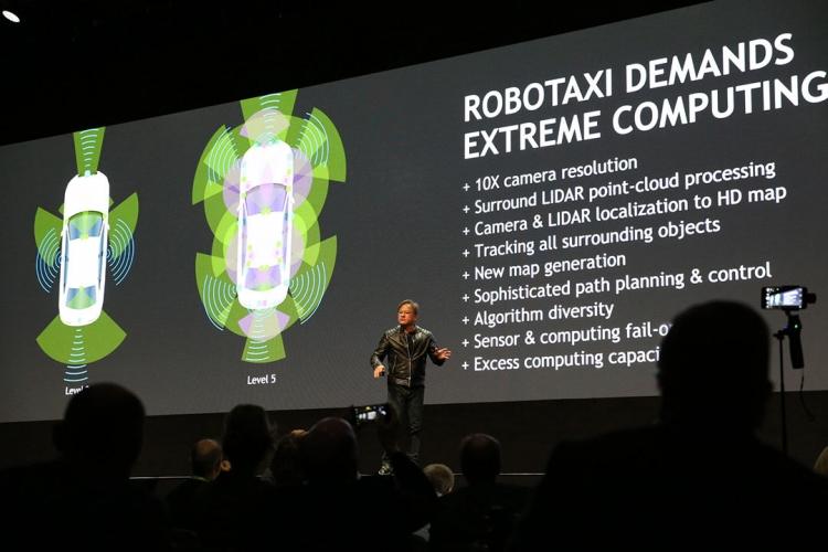 "NVIDIA представила Drive PX Pegasus — платформу для автопилота нового поколения"""