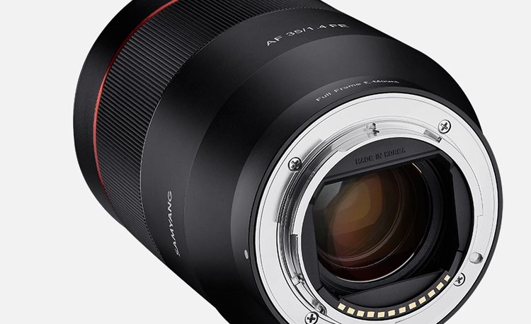 samyang2 - Samyang AF 35mm F1.4 FE: объектив для полнокадровых фотокамер Sony E Mount