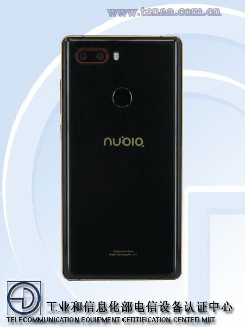 nu2 - Китайский регулятор рассекретил смартфон Nubia Z17S с четырьмя камерами