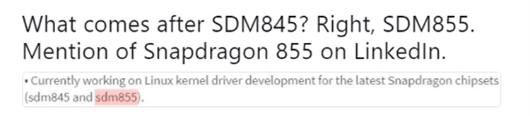 snap2 - Qualcomm начала разработку процессора Snapdragon 855