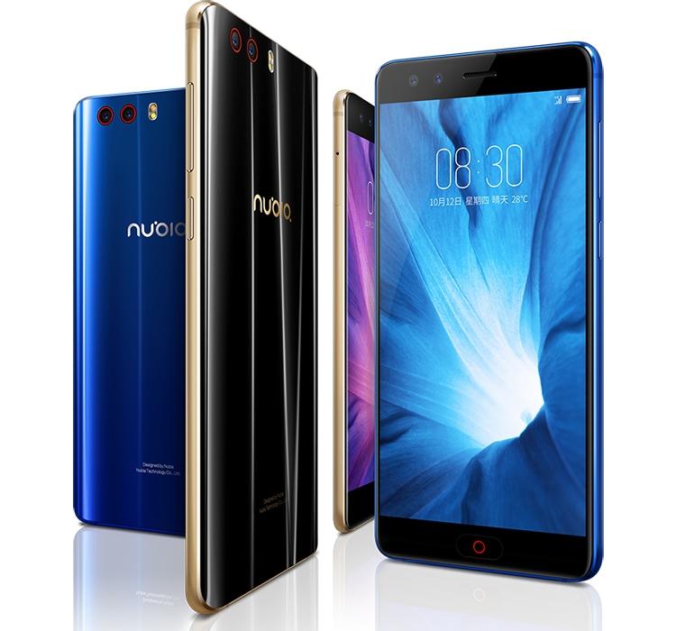 zte1 - Дебют смартфона Nubia Z17 miniS: четыре камеры, 5,2″ экран и чип Snapdragon 653