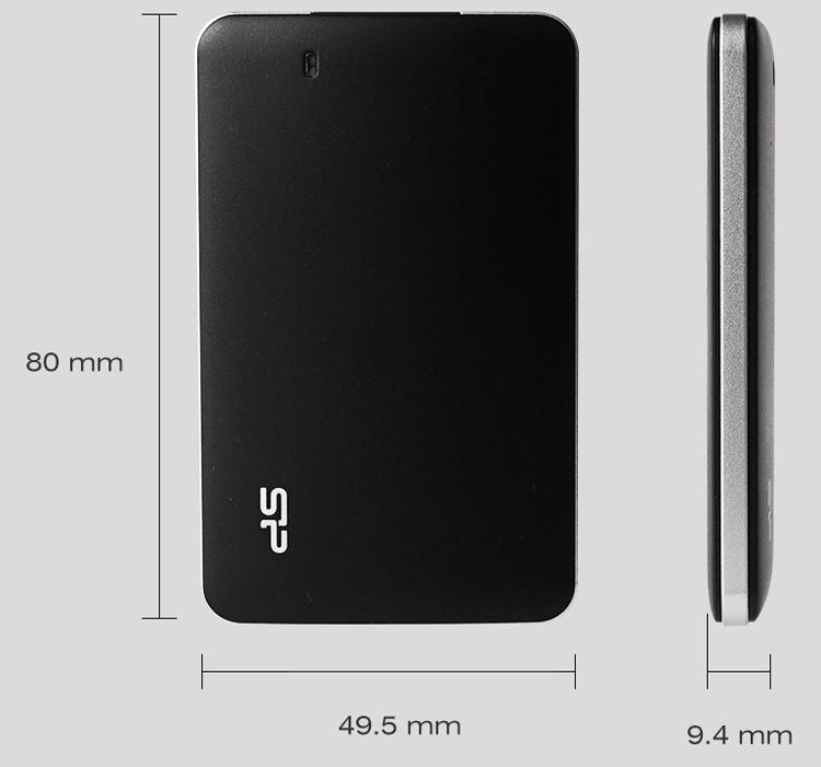 sp3 - Silicon Power Bolt B10: карманный SSD-накопитель весом в 25 граммов