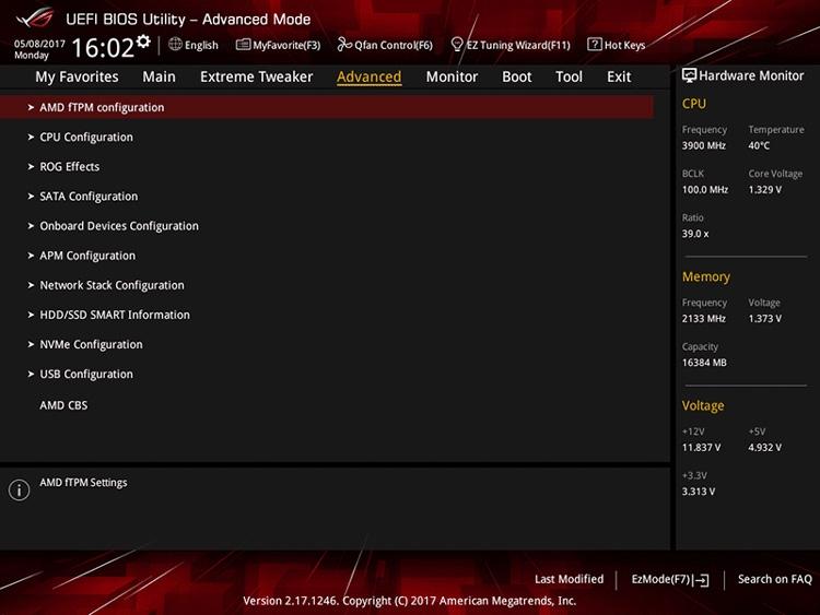 1027 1 - Обновление AGESA 1.0.0.7 готовит UEFI плат AM4 к новым процессорам