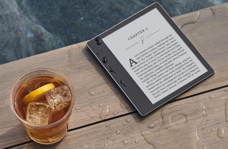 Полностью обновлённый букридер Amazon Kindle Oasis с 7-дюймовым дисплеем E Ink