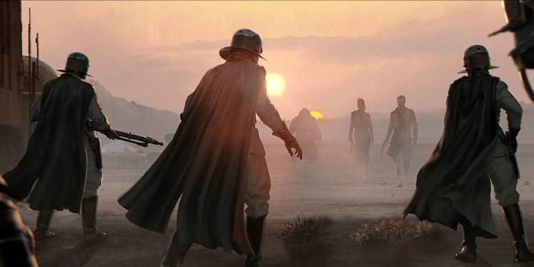 Концепт-арт игры по Star Wars