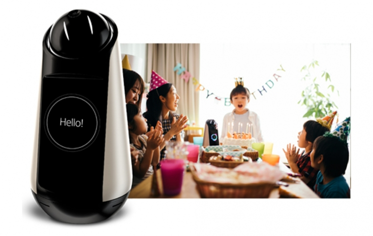 Сони  представила коммуникационного робота для дома Xperia Hello