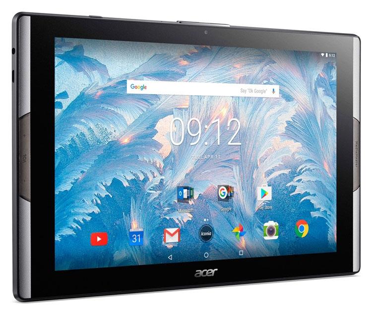 Планшет Acer Iconia Tab 10 с экраном на квантовых точках