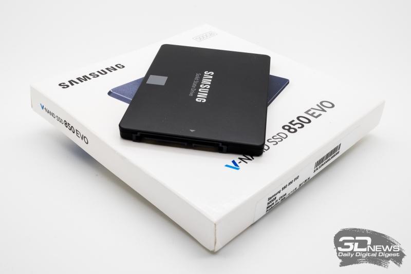Третья версия Samsung 850 EVO: теперь на 64-слойной TLC 3D V-NAND