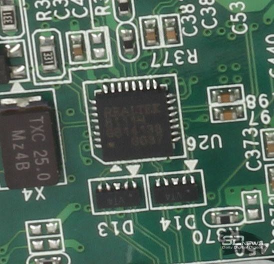 Гигабитный сетевой контроллер Realtek RTL8111H