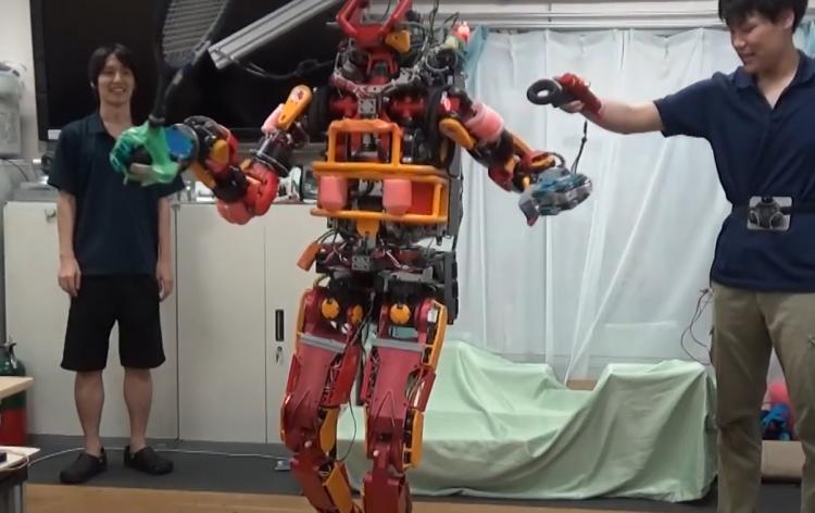 """Исследователи научились управлять роботом как куклой с помощью контроллеров HTC Vive"""""""