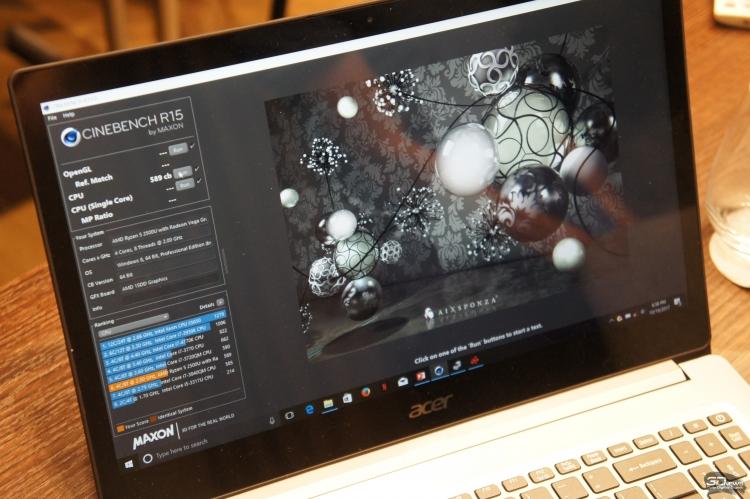 Тестирование Acer Swift 3