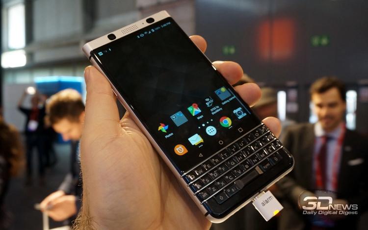 К выпуску готовится преемник смартфона BlackBerry KEYone