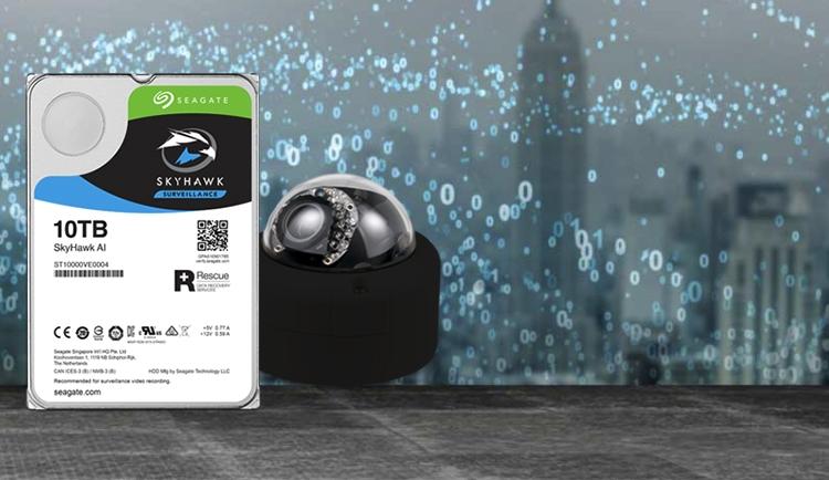 Seagate SkyHawk AI: жёсткие диски для видеонаблюдения