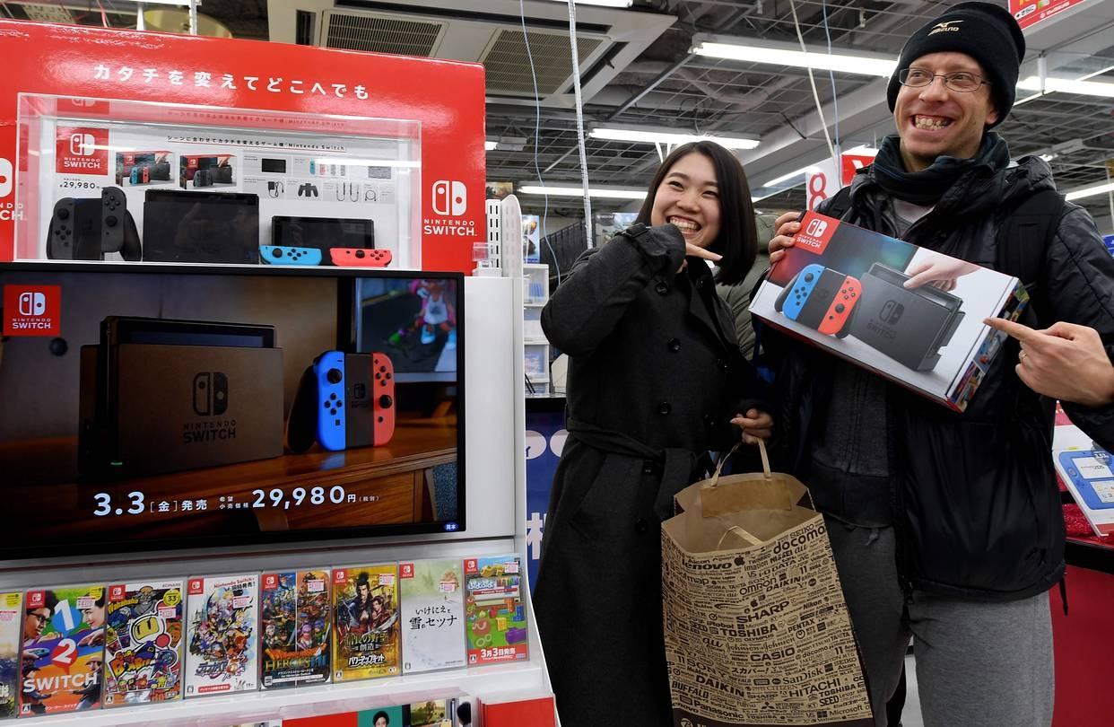 Nintendo надеется за год продать больше Switch, чем Wii U за всё время