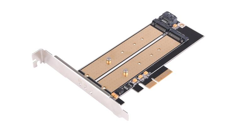ss2 - Адаптер SilverStone ECM22 поможет установить накопитель М.2 в слот PCIe