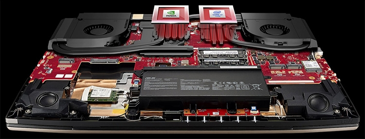 Ряд конфигураций ноутбука ограничится «простым» Core i7-7700HQ