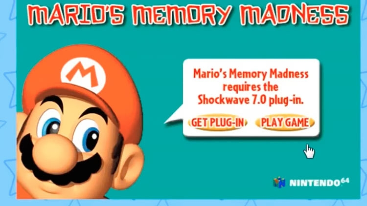 """Энтузиаст создал архив из трёх десятков Flash-игр Nintendo"""""""